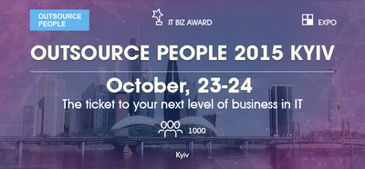 Outsource People 2015 Kyiv - ICT main event in Eastern Europe